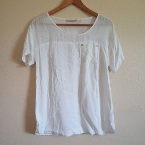 Soft Surroundings Studded Pocket Top Size Small